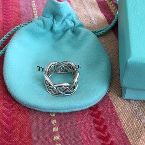 Tiffany & Co. Paloma Picasso Open Heart Ring
